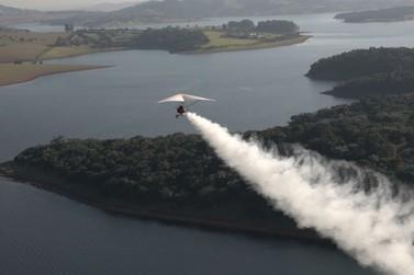 Programa Aero  - Por Trás da Aviação, exibirá voo de trike na região de Atibaia