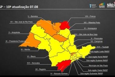 Vale do Paraíba e região bragantina avançam à fase amarela do Plano SP
