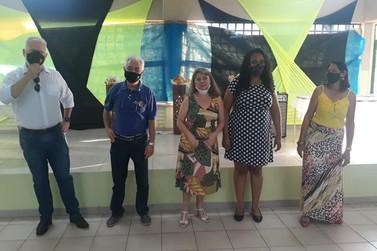 Rotary e Casa da Amizade realizam entrega de equipamentos para escola