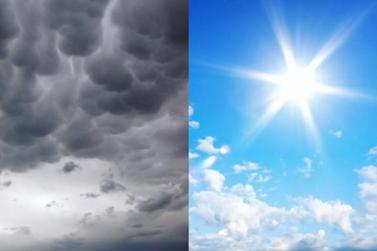 Semana começa com tempo instável e chuva em Atibaia