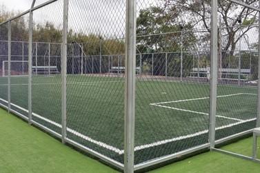 Prefeitura inaugura mais três módulos esportivos em Atibaia