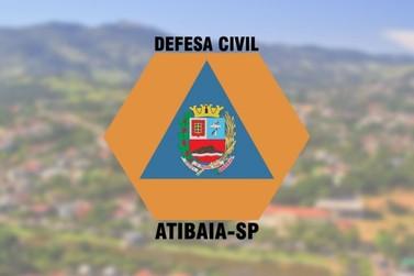 Atenção: Defesa Civil emite novo alerta de chuvas fortes na região de Atibaia