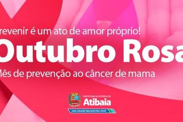 Outubro Rosa: Atibaia reforça ações para mulheres nas unidades de saúde