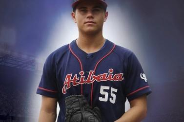 Garoto de Atibaia faz história e é contratado por time americano de beisebol