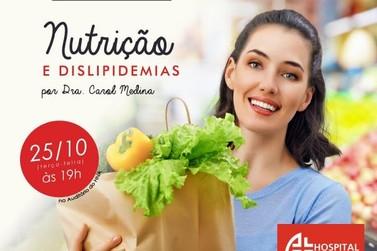 Hospital Novo Atibaia oferece palestra gratuita sobre colesterol e alimentação