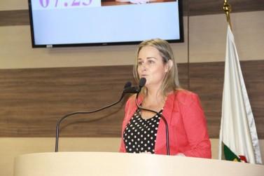 Ana Helena Boos (PP) chama a atenção para faltas a consultas médicas