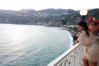 Brusquense conta experiência de vida na paradisíaca Costa Amalfitana