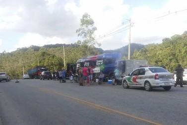 Após 10 dias de greve, manifestantes liberam rodovia Pedro Merizio, em Botuverá