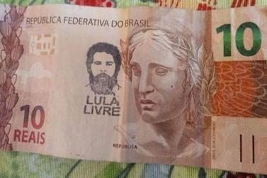 Banco Central não proibiu dinheiro carimbado com Lula Livre em bancos