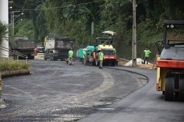 Pavimentação da rua Antônio Eising passa por mais uma etapa