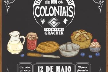 Shopping Gracher sedia Feirinha de Produtos Coloniais neste sábado (12)