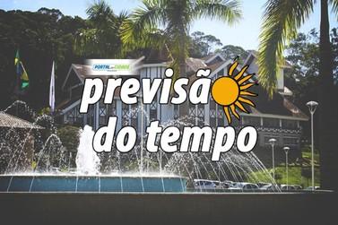 Inmet alerta sobre tempestades em Santa Catarina