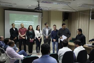 Reunião com secretários e diretores marca início da Reforma Administrativa
