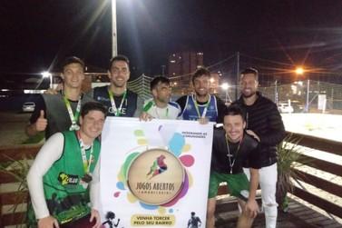 Águas Claras vence o futebol suíço dos Jogos Abertos Comunitários