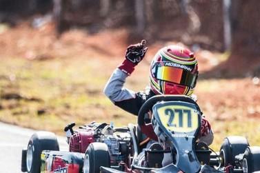 Brusquense fica em 3° no Campeonato Brasileiro de Kart na categoria Mirim