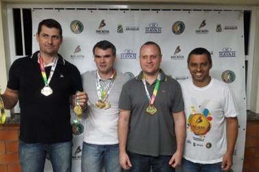 Centro e Steffen vencem tiro ao alvo feminino e masculino nos Jogos Abertos