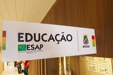 Prefeitura de Brusque realiza 1º Ciclo de Formação da Rede Municipal de Ensino