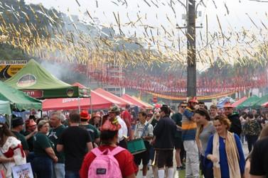 Stadt da alegria marca mais um ano de tradição em Guabiruba