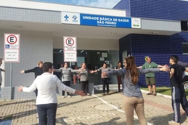 UBS São Pedro promove grupo de caminhadas