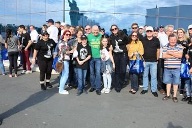 Brusquenses conhecem a cidade do alto com ação promovida pela Havan