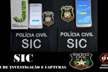 Dois celulares furtados são recuperados nos bairros Zantão e Steffen