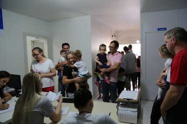 Mais de 900 crianças devem ser vacinadas em Guabiruba