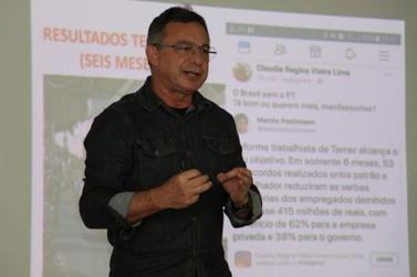 Sintrivest promove curso sobre importância do sindicato no país