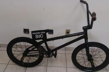 Suspeito de furtar bicicleta é identificado por policiais do SIC de Brusque