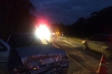 Colisão entre carros na rodovia Gentil Batisti Archer deixam dois feridos