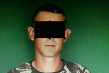 Homem é preso por violência doméstica, em Brusque