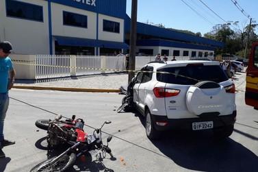 Motociclista morre em colisão com carro, na rodovia Pedro Merízio