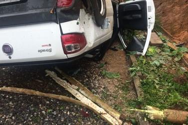 Motorista morre após cair de barranco de 10 metros de altura, no Dom Joaquim