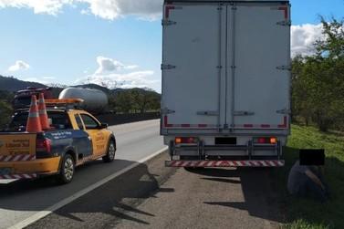 SIC e Polícia Rodoviária Federal recuperam caminhão furtado em Brusque