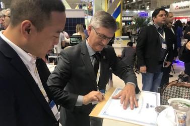 Unifebe é a primeira instituição brasileira a receber doação de empresa chinesa