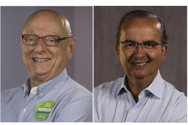 Esperidião Amin e Jorginho Mello são eleitos senadores em SC