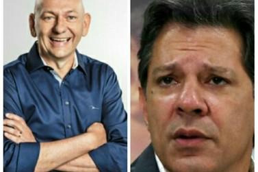 Luciano Hang pede indenização no valor de R$ 1 milhão a Haddad e PT
