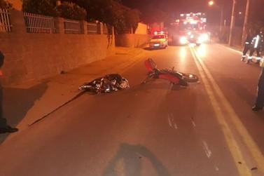 Motociclista morre em acidente de trânsito, no bairro Limeira