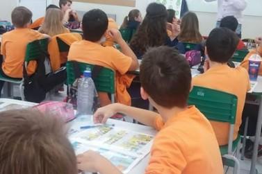 Programa Observador Mirim trabalha o combate a corrupção com crianças do 4° ano