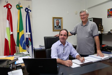 Vice de Guabiruba Vlamir Zirke assume prefeitura por 30 dias