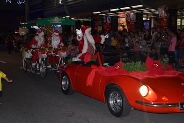 Esta é a última semana para se inscrever no Desfile de Natal