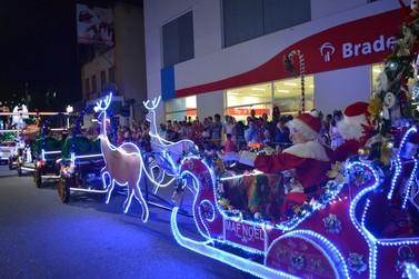 Inscrições para o Desfile de Natal em Brusque vão até o dia 23 de novembro