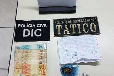 Adolescente é apreendida por tráfico de drogas no bairro Poço Fundo