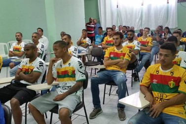Brusque FC apresenta integrantes do time para 2019