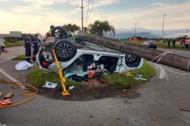 Brusquense morre em acidente de trânsito, em Florianópolis