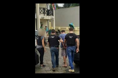 Foragido da penitenciária de Joinville é preso em Brusque, com drogas