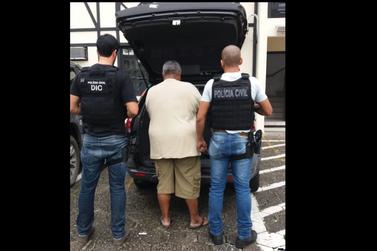 Homem é preso após ameaçar ex-companheira e descumprir medida protetiva