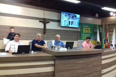 José Zancanaro é eleito presidente da Câmara de Vereadores