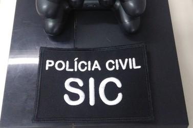 Polícia Civil recupera Playstation 4 furtado na região de Brusque