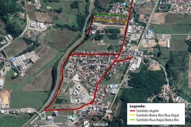 Prolongamento da Beira Rio volta a ter mão dupla no Santa Terezinha