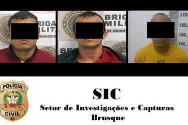 Suspeitos de roubar loja Koerich em Brusque são identificados